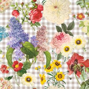My Flower Fairest belgian linen gingham
