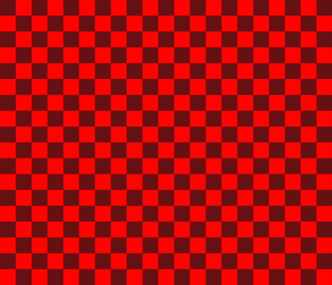 BN9 - Chili Pepper Checkerboard large fabric by maryyx on Spoonflower - custom fabric