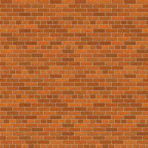 Brown Red Brick Wall