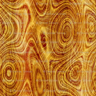 Wood Grain Tree Rings Panel