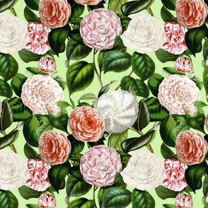 Camellia Pattern - Small - 10,5in
