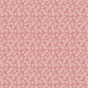 Small Scale Pink Leaves