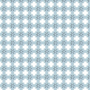 Blue Plus Sign Fall Pattern