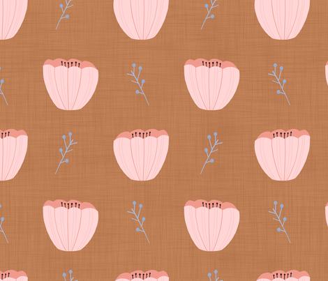 Poppies  fabric by karin_star_illustration on Spoonflower - custom fabric