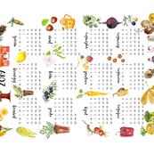 Anna's 2019 Tea Towel Calendar