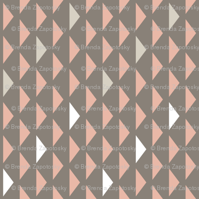 Mini Triangles Taupe (Elementary)