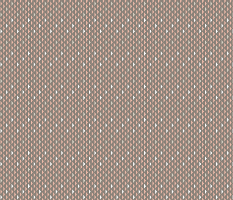 Mini Triangles Taupe (Elementary) fabric by brendazapotosky on Spoonflower - custom fabric