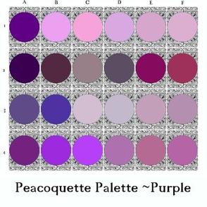 Peacoquette Palette ~ Purple Selection