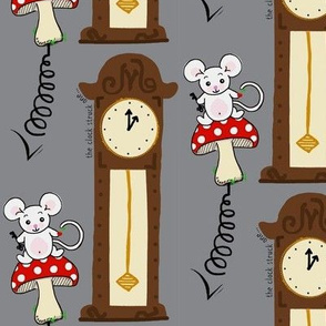 The Mouse Sprung up the Clock / nursery