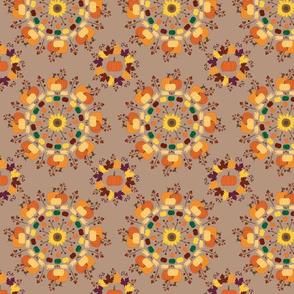 autumnal mandala