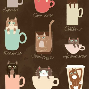 Coffee Cats in Espresso