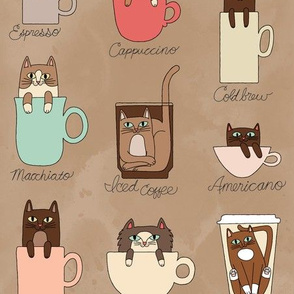 Coffee Cats in Latte