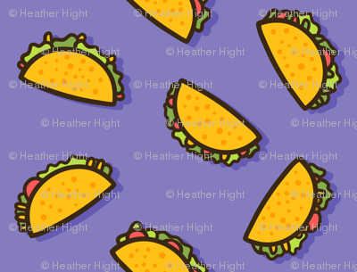 Taco Party - Purple