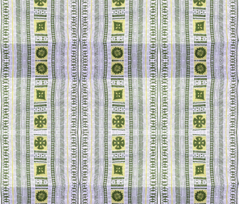 fijian tapa 42 fabric by hypersphere on Spoonflower - custom fabric