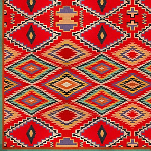 Geometric Navajo-insipred Repeating Pattern
