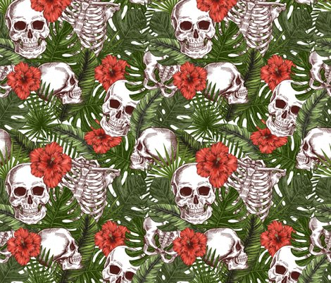 Rhalloween-tropical-vintage-seamless-pattern-creppy-jungle-skull-background-human-skeleton_shop_preview