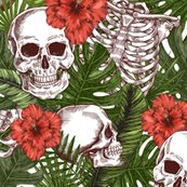 Rhalloween-tropical-vintage-seamless-pattern-creppy-jungle-skull-background-human-skeleton_shop_thumb