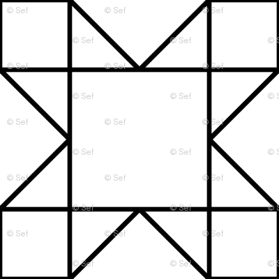 e76c828049ccf 07922853 : square triangle tiles : outline wallpaper - sef - Spoonflower