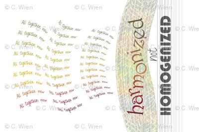 harmonized-homogenized
