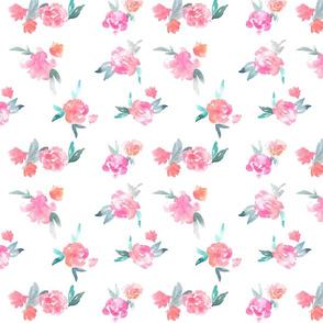 Watercolor Floral - loose