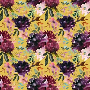 """8"""" Whisper Fall Florals // Anzac Yellow"""