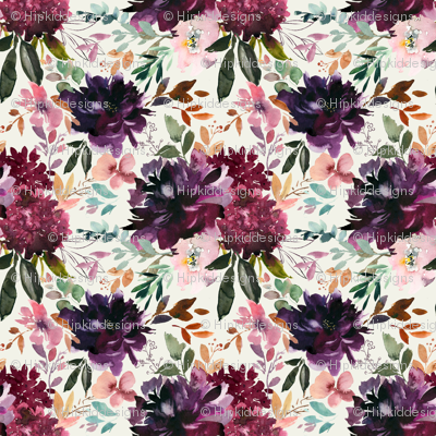 "8"" Whisper Fall Florals // Spring Wood"