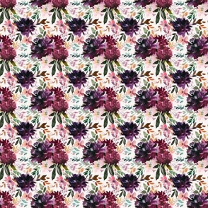 "4"" Whisper Fall Florals // Peep Blush"