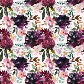 "8"" Whisper Fall Florals // Peep Blush"