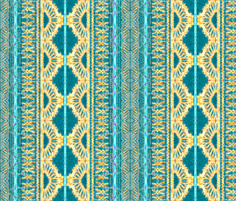 fijian tapa 78 fabric by hypersphere on Spoonflower - custom fabric