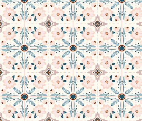 Prairie Tiles fabric by alison_janssen on Spoonflower - custom fabric