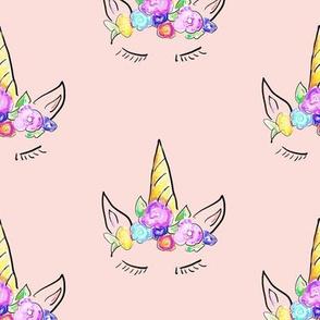 Rainbow Unicorns // Lt. Peachy Pink