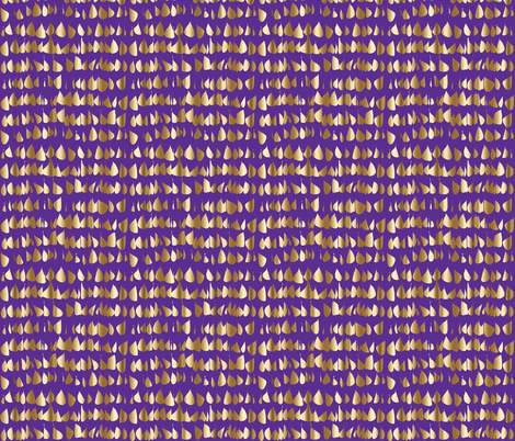 gold drops purple and gold royal  fabric by jenlats on Spoonflower - custom fabric