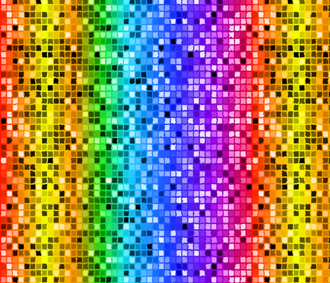 Bring Back Disco Rainbow Sequins fabric by fabric_is_my_name on Spoonflower - custom fabric