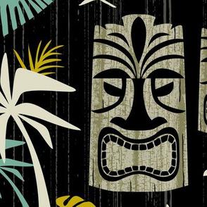 Island Tiki - Black Jumbo Scale