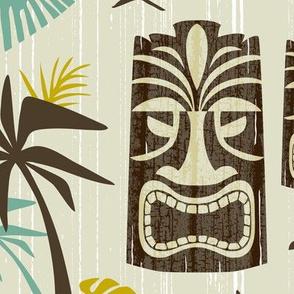 Island Tiki - Tan Jumbo Scale
