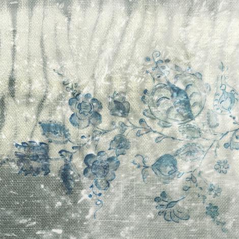 Painterly flowers fabric by studio_amaranthine on Spoonflower - custom fabric