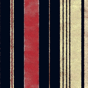 Brenda Lee: Aged Vertical Stripes