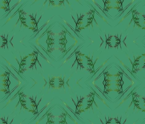 Field of Green fabric by abtoth on Spoonflower - custom fabric