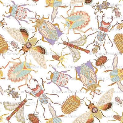 Jungle Bugs Exotica - White