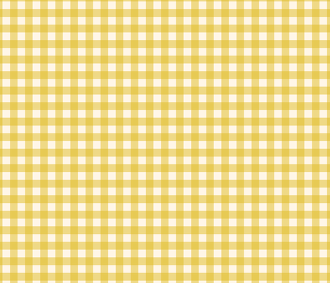 Yellow Gold Check Gingham Plaid Buffalo Traditional _ Miss Chiff Designs   fabric by misschiffdesigns on Spoonflower - custom fabric
