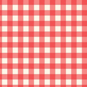 Traditional Classic Check Red