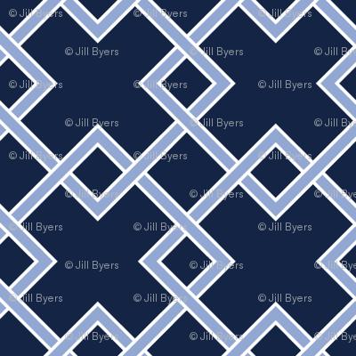 lattice - Serenity & Indigo