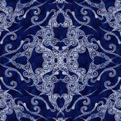 Victorian Era royal blue