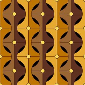 circle weave amber