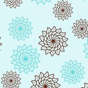 Mandala Flowers 1