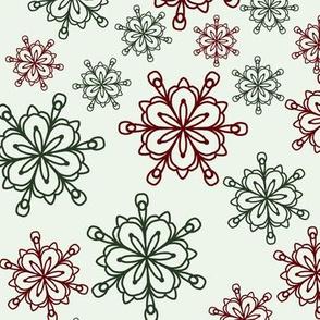 Christmas Snowflakes 1