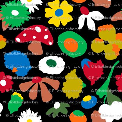 Mod Mushroom Floral