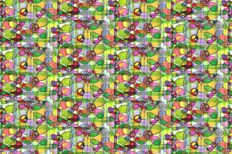 Madras floral plaid lV fabric by unclemamma on Spoonflower - custom fabric