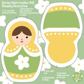 Cut & Sew Spring Matryoshka