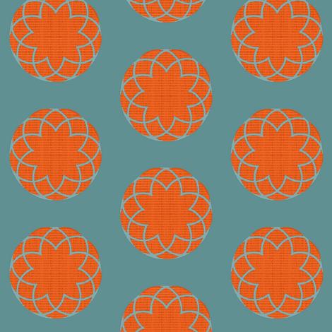 Jade Lotus fabric by materialsgirl on Spoonflower - custom fabric